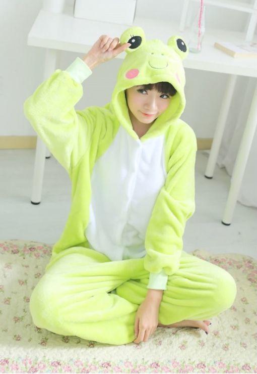 Пижамы кигуруми Лягушенок лягушенок.jpg