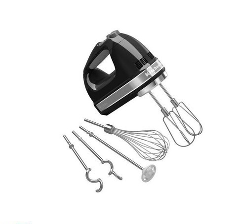 Ручной миксер KitchenAid черный 5KHM9212EOB