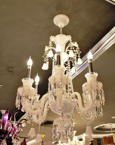 murano chandelier  12-23  by Arlecchino Arts ( HK)