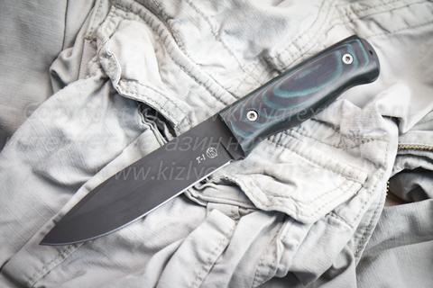 Туристический нож Т-1 Черный Микарта z160