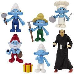 The Smurfs Movie Grab 'Ems Series 02