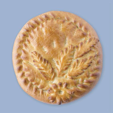Пирог с гречкой