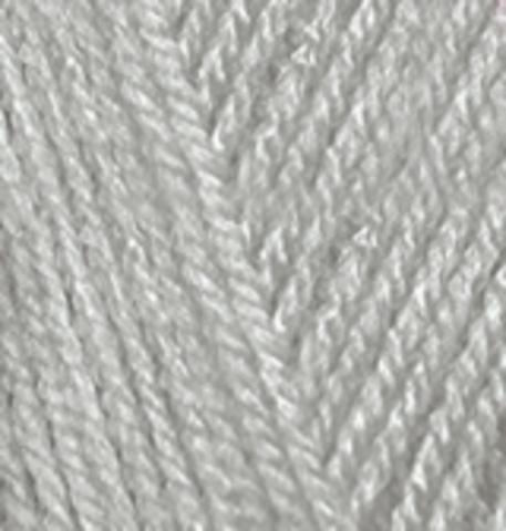 Пряжа Alize Baby Best серый 344