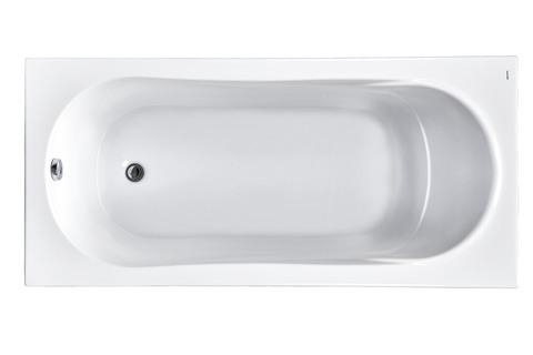 Акриловая ванна Santek Касабланка XL 170х80 прямоугольная белая 1WH302441