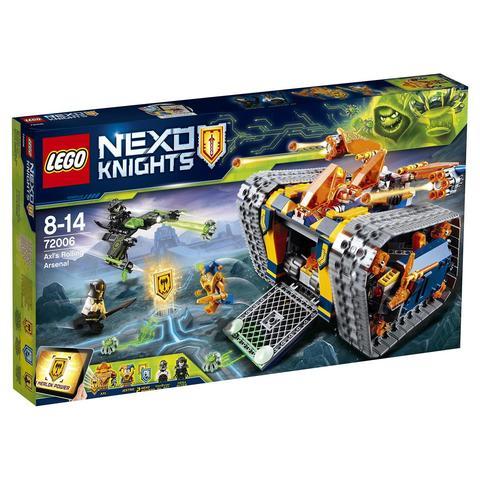 LEGO Nexo Knights: Мобильный арсенал Акселя 72006 — Axl's Rolling Arsenal — Лего Нексо Рыцари