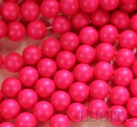 5810 Хрустальный жемчуг Сваровски Crystal Neon Pink круглый 10 мм (Картинка7)