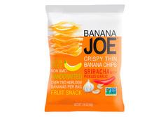 Банановые чипсы со вкусом соуса Шрирача