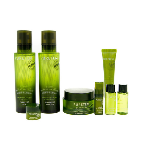 Welcos Puretem Purevera Skin Care Set 3