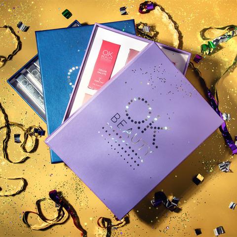 Подарочный бокс OK BEAUTY color Lilac