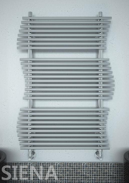 Siena  - водяной  дизайн  полотенцесушитель