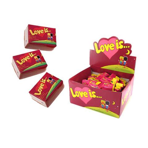 LOVE IS жевательная резинка Вишня и Лимон 20х1 (100*4,2г)