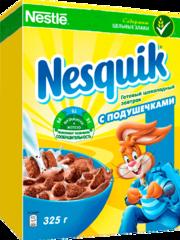 """Завтрак """"Nesquik"""" шоколадный с подушечками 325г"""