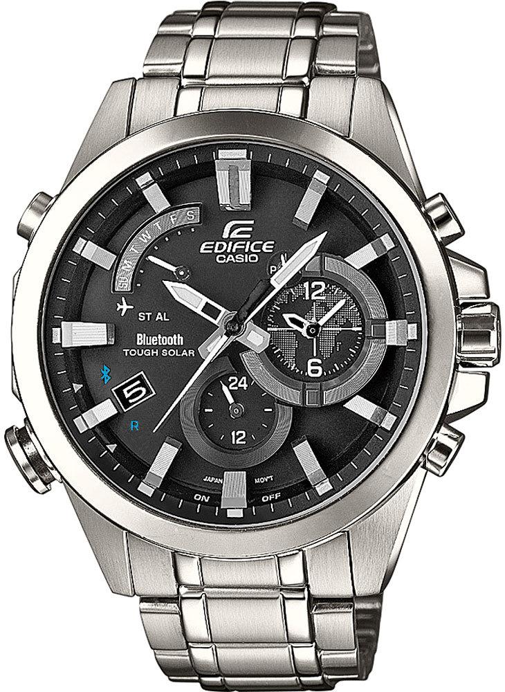 Купить Умные наручные часы Casio Edifice EQB-510D-1A по доступной цене ... ea4ccaed044