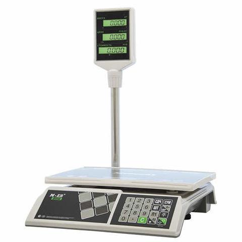 Весы торговые M-ER 326ACP-15.2 LCD Slim