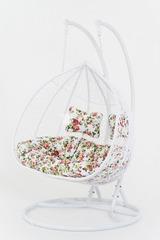 Подвесное кресло двухместное Vinotti Luciana White