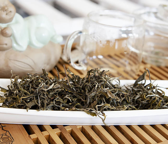 TEA-CH102 Китайский зеленый чай «Ворсистые Пики» (Сы Мао Мао Фэн, 50 гр) фото 06