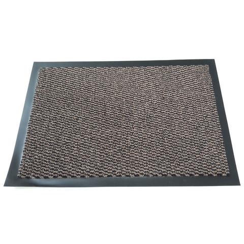 Ковер входной грязезащитный ворсовый на ПВХ основе (1200х1800мм,коричневый