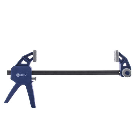 Струбцина пистолетная КОБАЛЬТ 300 мм, быстрозажимная