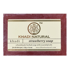 Мыло Khadi Natural 34720.7 (Strawberry)