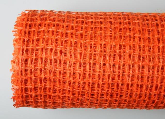 Сетка мелкая оранжевая 5м*50см