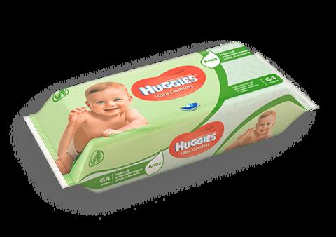 Салфетки Huggies Ultra Comfort 64 шт