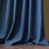 Комплект штор и покрывало Джулия синий