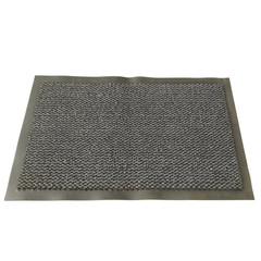 Ковер входной грязезащитный ворсовый на ПВХ основе (1200х 1800мм,темно-сер