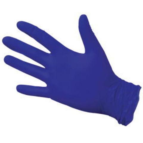 Перчатки нитрил Safe&Care фиолетовые L, 100 шт