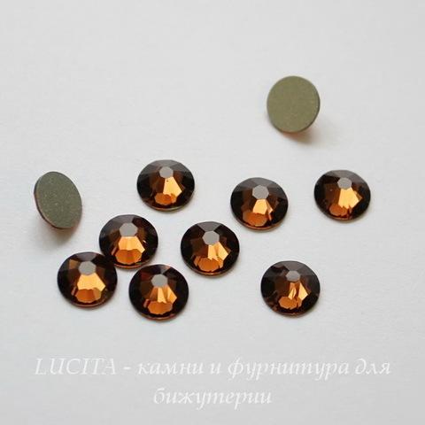 2058 Стразы Сваровски холодной фиксации Smoked Topaz ss 20 (4,6-4,8 мм), 10 штук