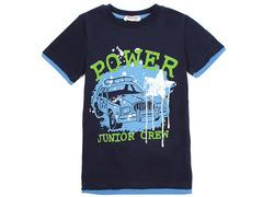 702-14 футболка детская, темно-синяя