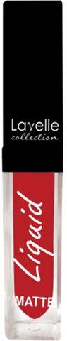 Лавелль жидкая матовая помада LS-10 тон 07 классический красный 5мл