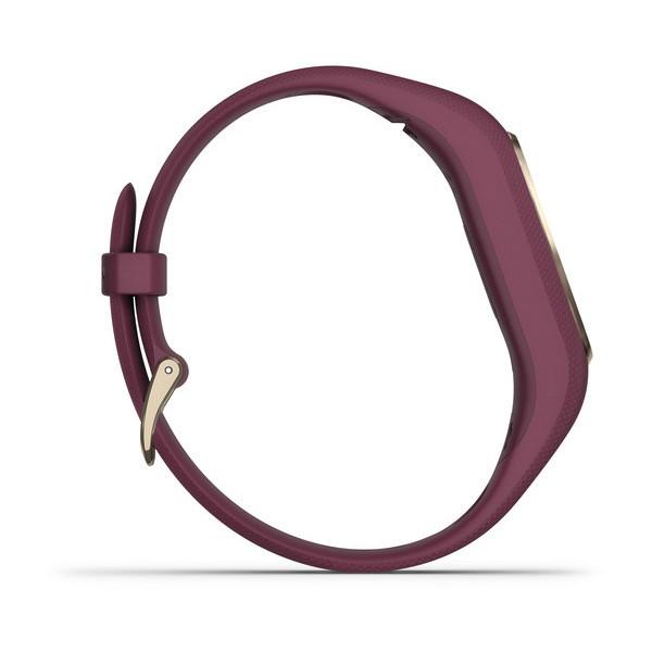 Фитнес-браслет с пульсометром Vivosmart 4 (бордовый с золотом)