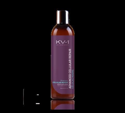 KV-1 Шампунь с оливковым маслом и стволовыми клетками зеленых яблок Shampoo Advanced Cellular Repair