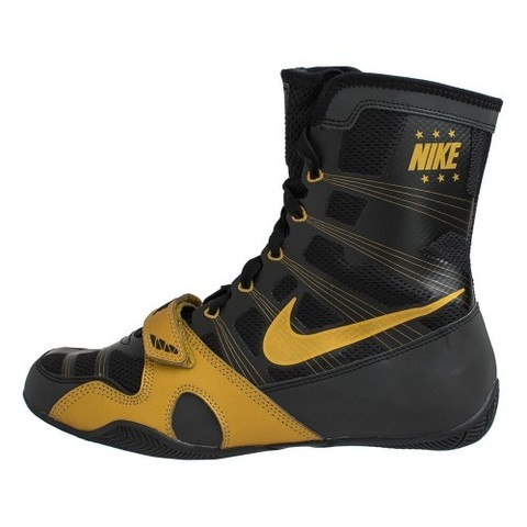 Боксерки Nike HyperKO  Black/ metallic gold