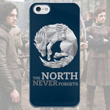 Чехол для iPhone 7+/7/6s+/6s/6+/6/5/5s/5с/4/4s THE NORTH NEVER FORGETS