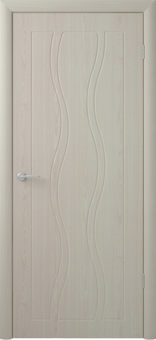 Дверь Фрегат Бергамо, цвет беленый дуб, глухая