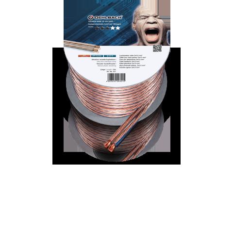 Oehlbach Speaker Cable 2x2,5mm clear 30m, кабель акустический