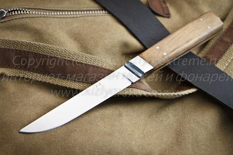 Туристический нож У-8 Полированный Орех