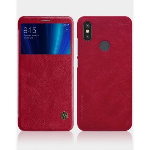 Чехол книжка Nillkin для Xiaomi Mi A2 Красный