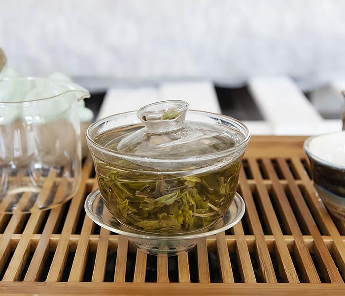 TEA-CH102 Китайский зеленый чай «Ворсистые Пики» (Сы Мао Мао Фэн, 50 гр) фото 09