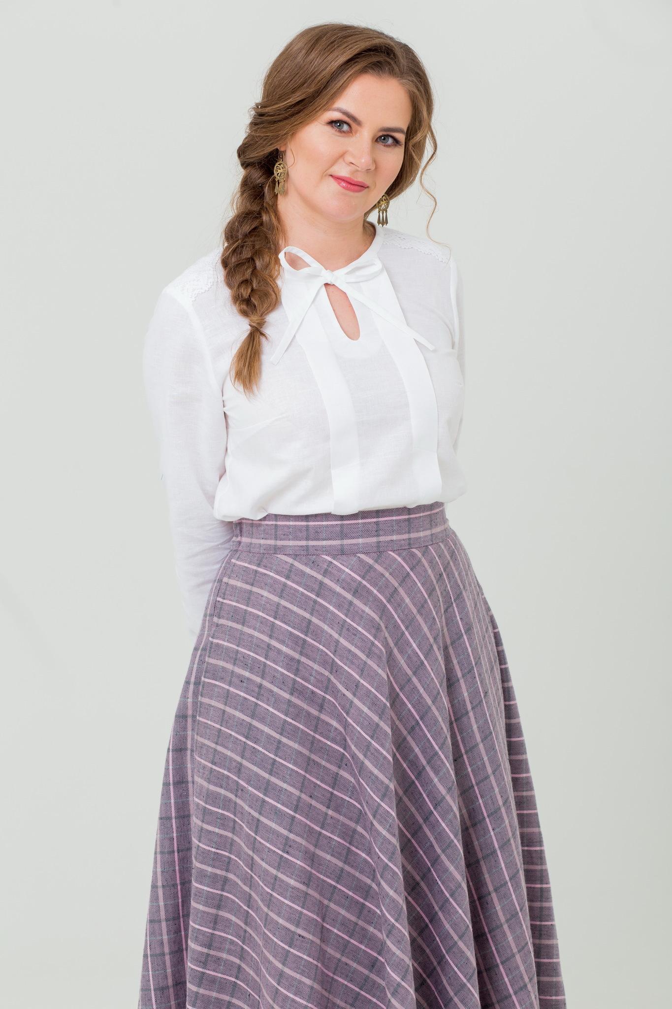 Блуза Хрусталь в русском стиле купить
