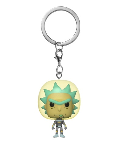 Брелок Funko Pocket POP! Keychain: Rick & Morty: Space Suit Rick 45419-PDQ