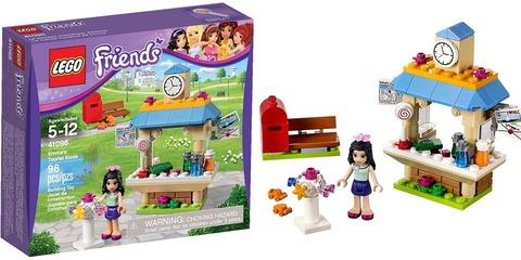 LEGO Friends: Туристический киоск Эммы 41098