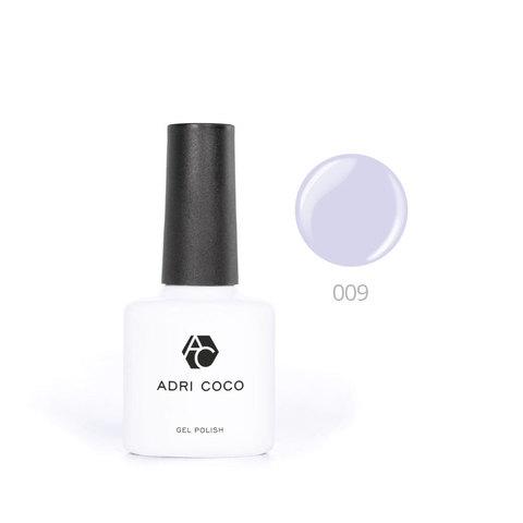 Цветной гель-лак ADRICOCO №009 светло-сиреневый (8 мл.)