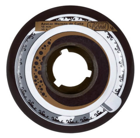 Колеса UNDERCOVER Carlos Bernal Foodie Wheel 58mm/90