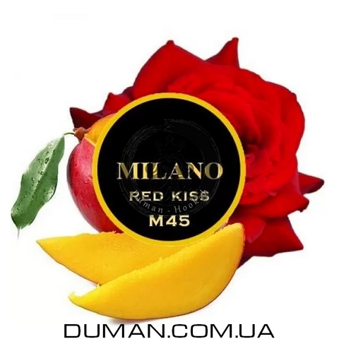 Табак Milano Red Kiss M45 (Милано Роза Манго) |На вес 25г