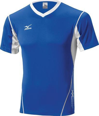 Футболка волейбольная Mizuno Premium Top Tall мужская blue
