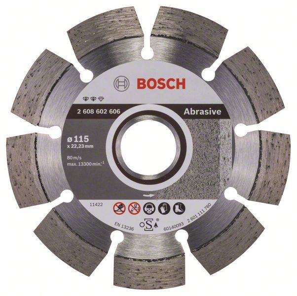 Алмазный диск Expert for Abrasive 115-22,23 Bosch 2608602606