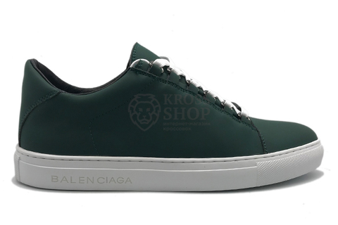 Balenciaga Men's Arena Low Top Green