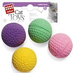 Gigwi набор четыре Мячика, легкие и мягкие 4см